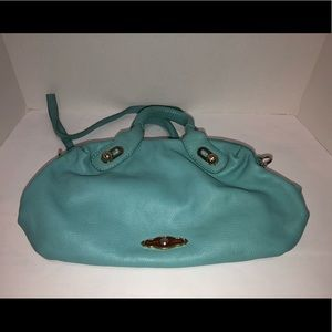 Elliott Lucca Leather Olivia Satchel with strap